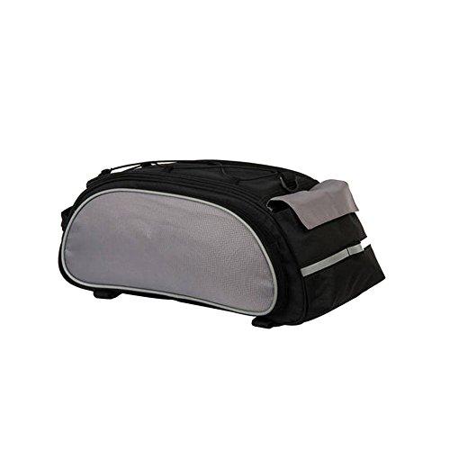 (Smdoxi Waterproof bicycle saddle bag, mountain bike bicycle rear pocket seat storage bag, night riding luminous trend rear seat bag)