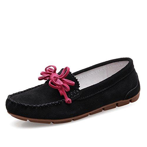 chaussures Style Cuir D Chaussures Clair Joker chaussures femelle De En British Womens Casual Plates 1qqOITRv