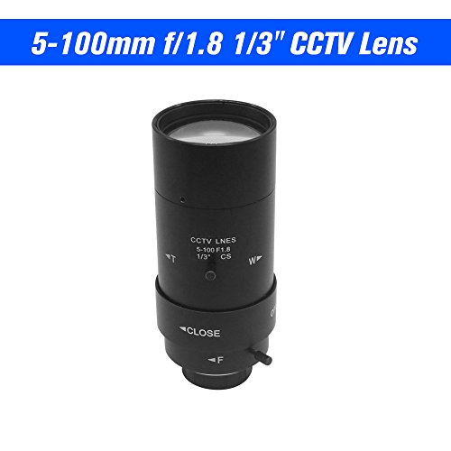 (OWSOO 5-100mm CS F1.8 Lens 1/3