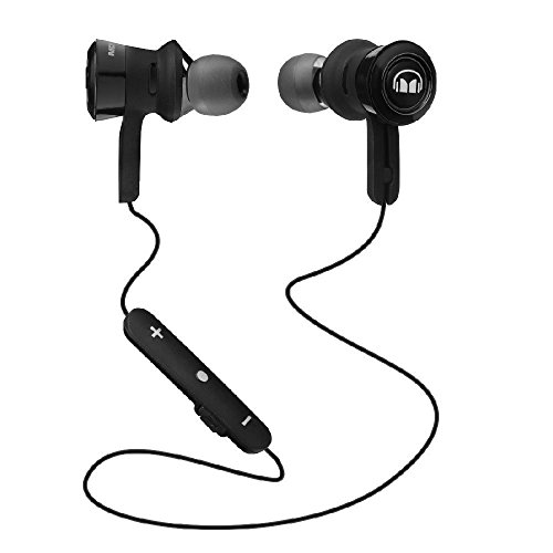 Monster Clarity HD In-Ear Bluetooth Headphones - Black and Black Platinum