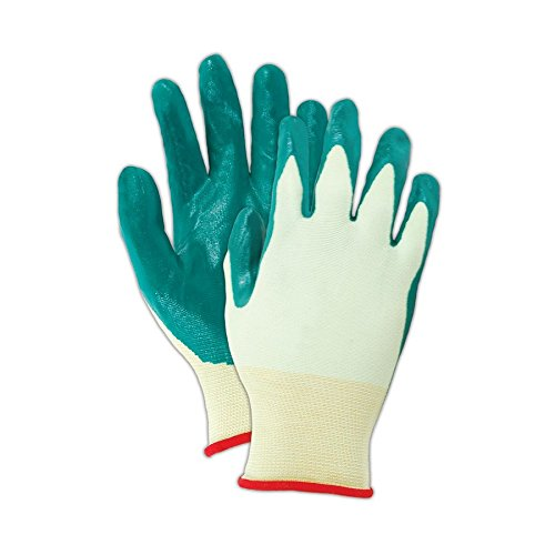 SHOWA Best Glove Nitric-Flex Lite 4500 Nitrile Palm Coated Gloves, 10