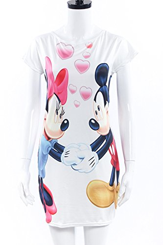 Mickey Mouse Dress For Women - Maskshow Slim Pencil Girls Dresses Party