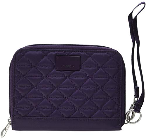 PacSafe Women's Rfidsafe W150 RFID Blocking Organizer-Mulberry for sale  Delivered anywhere in USA