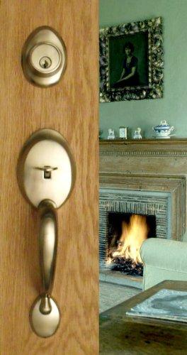 Locking Entrance Lever Handle - 5