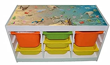 Ocean Unterwasser Kinder Raum Möbel Aufkleber Ikea Hack