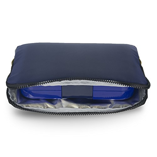 YUMBOX Poche - Insulated Sleeve Lunch bag (Navy)