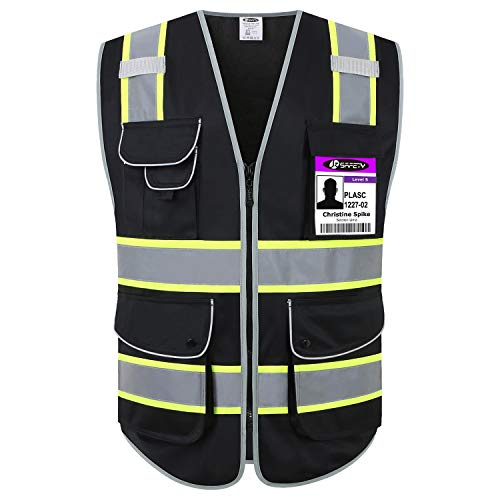Jksafety 9 Pockets High