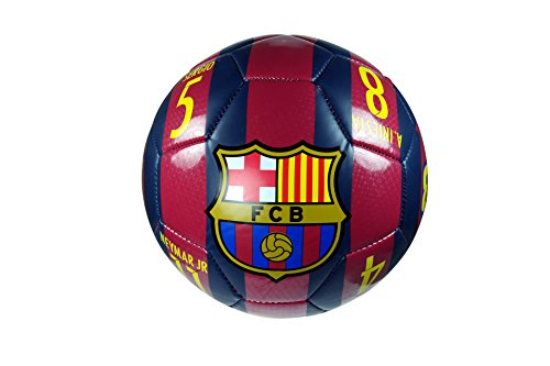fan products of FC Barcelona Authentic Official Licensed Soccer Ball Size 4 - 02-5