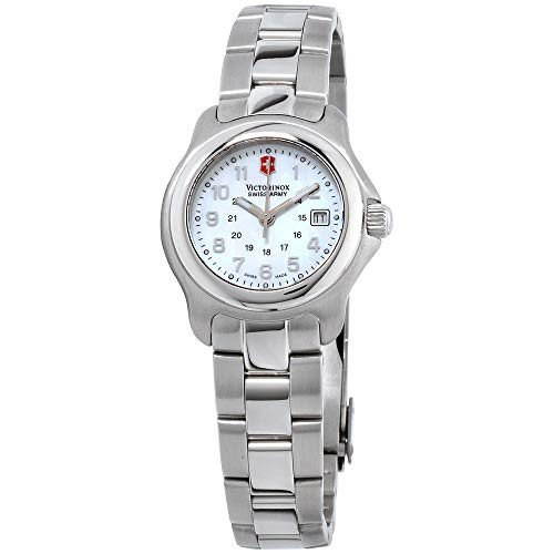 Victorinox Mother Of Pearl Dial Stainless Steel Band Ladies Watch 251035