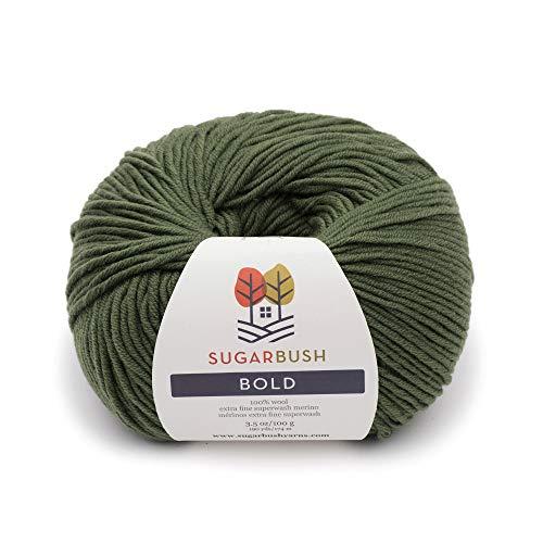 Sugar Bush Yarn Bold Knitting Worsted Weight, Fir