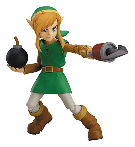 Good Smile Company The Legend of Zelda: A Link Between Worlds: Link Figma Action Figure (Deluxe Version)