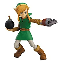 Max Factory The Legend of Zelda-A Link Between Worlds-Link Figma Action Figure (Deluxe Version)