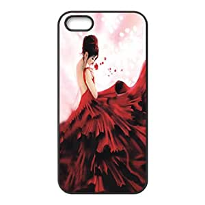 Designed iPhone 5 5s hard case back cover (I5a-26.jpg)