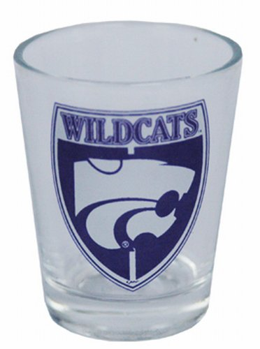 Game Day Outfitters NCAA Kansas State Wildcats Shield Shotglass ()