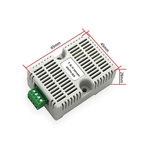 SHAPB 5PCS/LOT Collector Analog Output 0-5V /0-10V Module Temperature and Humidity Transmitter Detection Sensor (Analog 4 Outputs Module)