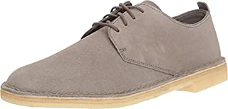 CLARKS Men's Suede Desert London Oxfords, Grey, 8 M US (B079RLZBHY) | Amazon price tracker / tracking, Amazon price history charts, Amazon price watches, Amazon price drop alerts