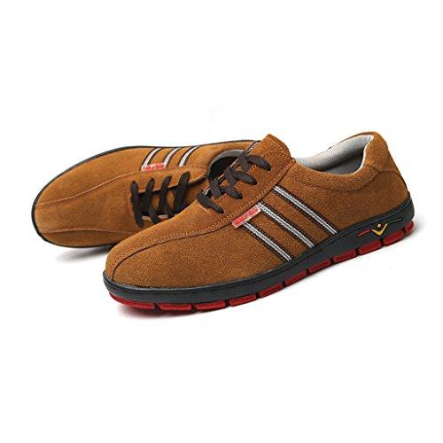 Uisexe Sécurité Chaussures En 2 Chaussures Steel Toe Hommes Acier D'orteil De Homyl BwfqpHH