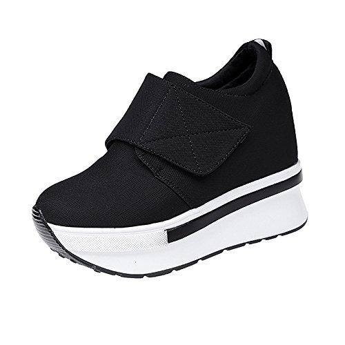 Course Chaussures Chaussures on Femme Compensées de Bottes Casual Cheville Plateformes Bottes ALIKEEY Slip Chaussures Mode Chaussures Femmes De Running Course de Trail S5qttn