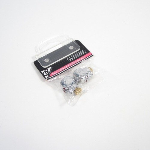 GIZA PRODUCTS(ギザプロダクツ) バルブキャップ ドクロ 2個 VLC03402