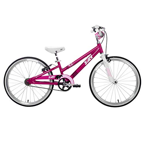Save on Joey 4.5 Ergonomic Kids Bicycle, For Boys or Girls, Age 5 and up, Height 43-54 inches, in Fuschia and more
