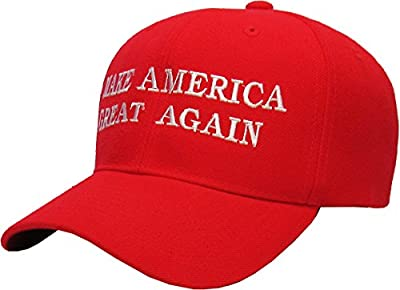 Make America Great Again - Donald Trump 2016 Campaign Cap Hat (004) Red