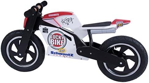 Unisex-Ni/ño KIDDIMOTO Superbike Hero Impulsor Rojo 2-6 a/ños