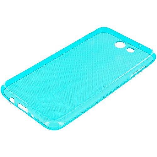 Cell Accessories For Less (TM) Samsung J7 Prime Perx Sky Pro J7V 2017 Blue ProWorx Ultra Slim Thin Scratch Resistant TPU Silicone Case Cover Bundle (Stylus & Micro Cleaning Cloth) - By TheTargetBuys