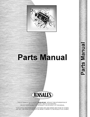 (Allis Chalmers TL-16D Wheel Loader Parts Manual (SN# 1801 and Up))