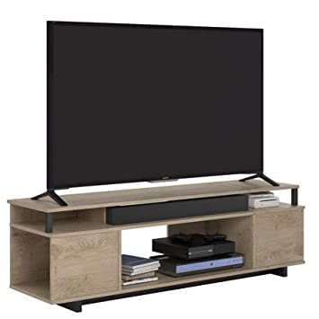 Ameriwood Home Kensington Place TV Stand TVs up to 65 ,Rustic Brown