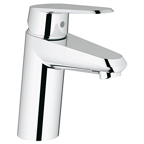 Grohe 32302002   Eurodisc Cosmo OHM Single Hole 1-Handle Low-Arc Bathroom Faucet in Starlight Chrome