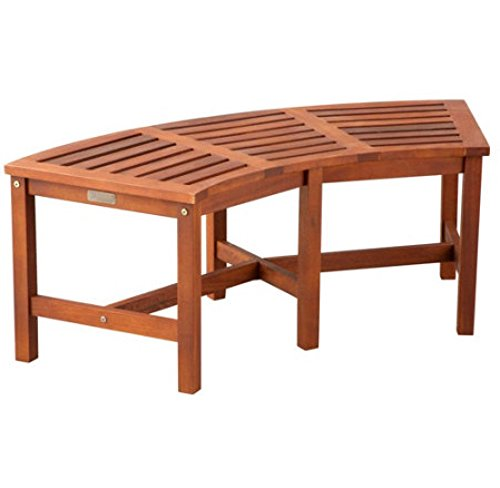 Backless Wood Bench - 8