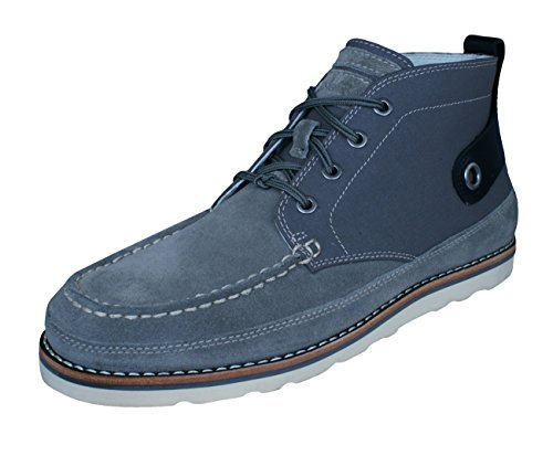 Timberland Abington Haley Chukka Mens Leather Boots-Grey-9.5