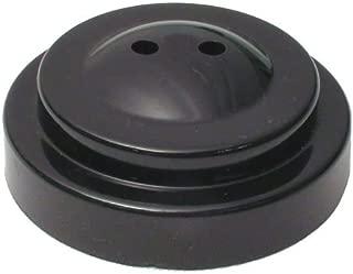 "product image for Plastic desk base for 4x6"" miniature flag (2 hole black)"