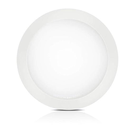 White Dimmable Led Disk Light Solla 13 Flush Mount Ceiling Light