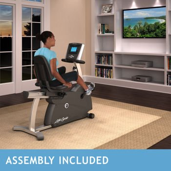 Life Fitness R1 Lifecycle Recumbent Bike - Assembly Included