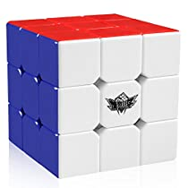 D-FantiX Cyclone Boys 3x3 Speed Cube Stikerless Magic Cube 3x3x3 Puzzles Toys (56mm)