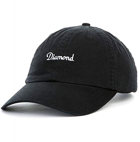 Diamond Supply Co.The Champagne Sports Hat in Black (Co Supply Diamond Accessories)
