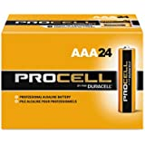 Procell Alkaline Batteries, AAA, 24/Box, Sold as 1 Box, 24 Each per Box