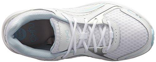 Ryka Blue Shoe Aries Women's Walking White rFazrqp