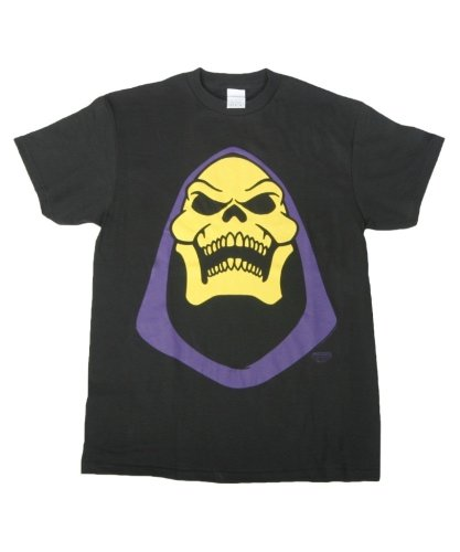 Skeletor Face Bold He-Man Official Licensed Authentic Adult T-Shirt She-Ra XL