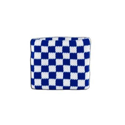 Digni reg Checkered blue-white Wristband sweatband Set pieces Estimated Price £6.95 -