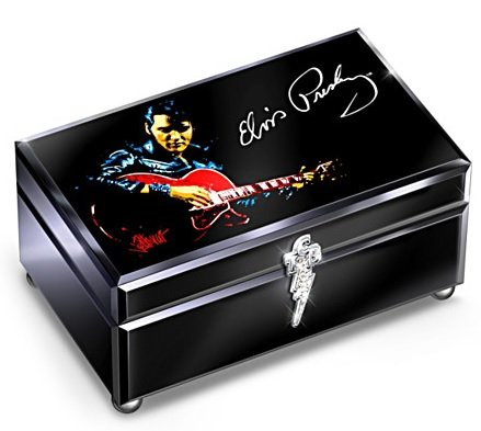 Bradford Exchange Elvis - Bradford Exchange Elvis Presley Reflections Featuring His Own Voice Music Box