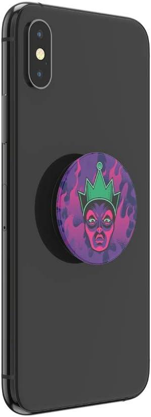 Support et Grip pour Smartphone et Tablette avec Un Top Interchangeable PopSockets PopGrip Evil Queen
