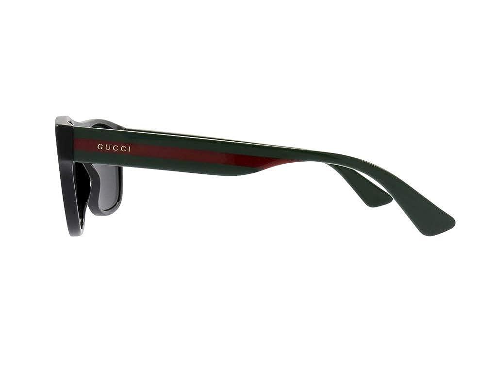 f27dd6d41 Amazon.com: Gucci GG0341S Black/Grey 56/17/150 Men Sunglasses: Watches