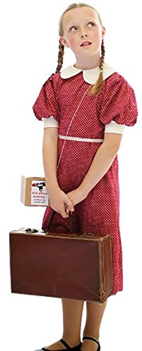 Red Polka Dot 1940'S-WW2-Wartime-NARNIA-World Book Day - All Ages (Age 7-8)]()