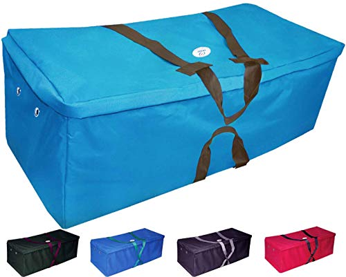 Derby Originals Nylon Hay Bale Bag-Covers, Turquoise