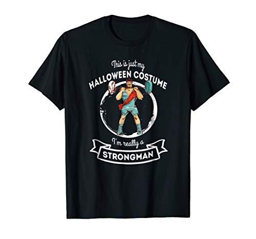 Strongman Halloween Costume T-Shirt for $<!--$19.99-->