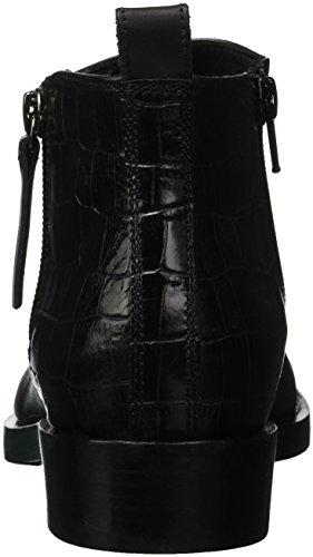 C9999 Black F Mujer Botines Donna Geox Brogue para q7w14Z0x