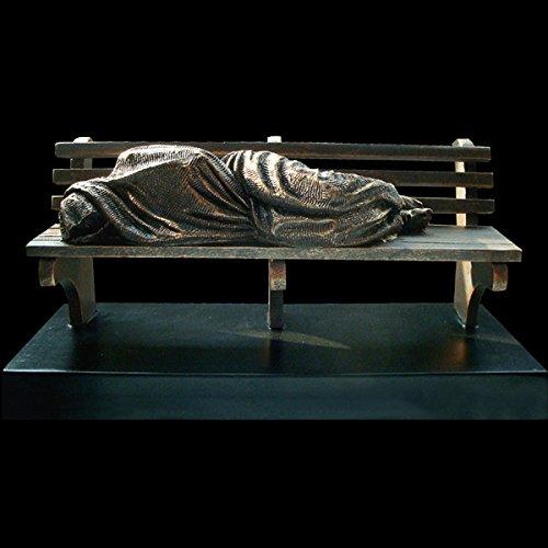 Homeless Jesus Christian Sculpture Minature by Timothy Schmalz