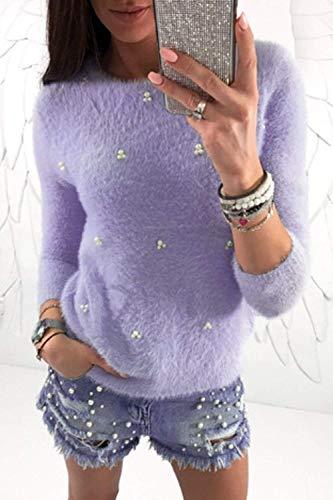 Manica cn UK Zhrui Donna Sottile Dimension S Lunga Alto Alto Et The Top M Of couleur Hp0xHBa